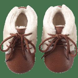 chaussures-cuir-souple-fourres-toudoo-marron-face