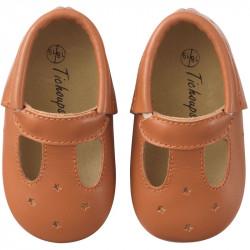 chaussures-bebe-cuir-souple-touti-camel-face
